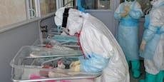 Baby kommt mit dem Coronavirus zur Welt