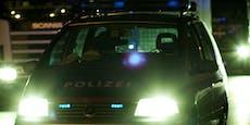 Elektromarkt-Einbrecher attackieren Polizisten