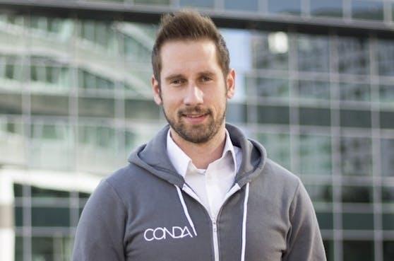 Conda-Gründer Daniel Horak.