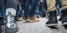 Kind entpuppte sich bei illegaler Demo als 23-Jähriger