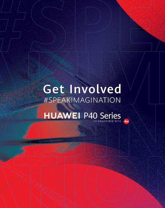 Speak Imagination: Mit Huawei bei der Entstehung eines neuen Werbespots mitwirken.
