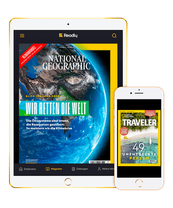 National Geographic ist ab sofort auf Readly.