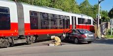 Zug-Crash im Frühverkehr sorgte für Mega-Stau