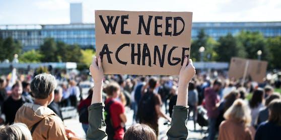 Klima Demo Symbolbild