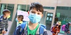 Wiener Schüler starten heute mit Masken