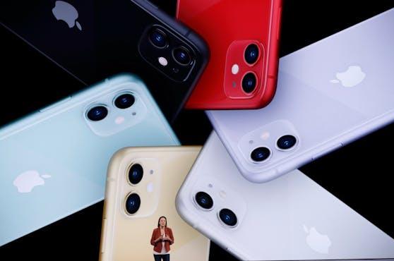 Mit dabei: Das iPhone 11.