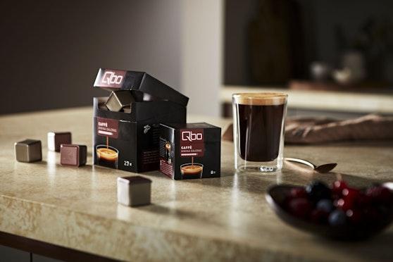 Den Caffè Kinyaa Galeras gibt es um 2,95 Euro (8 Würfel) bzw. 9,95 Euro (27 Würfel).