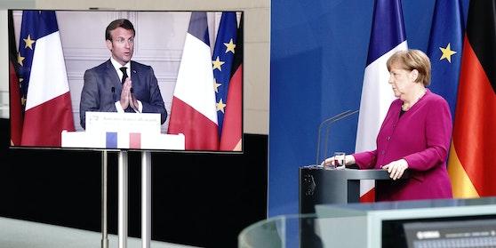 Deutschland und Frankreich schlagen gemeinsam ein europäisches Programm im Umfang von 500 Milliarden Euro zur wirtschaftlichen Erholung nach der Corona-Krise vor.