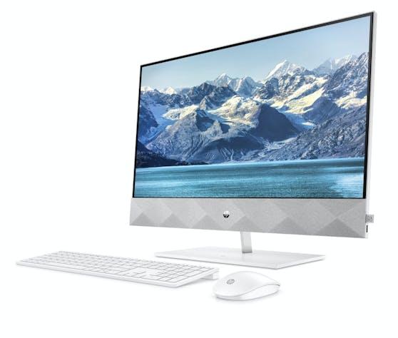 Die neuen Modelle verfügen als erste HP Pavillon AiOs über ein in den Standfuß integriertes Wireless Qi-Ladepad, das mehrere OS-Geräte unterstützt.