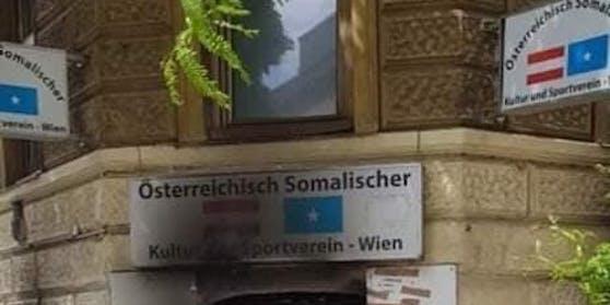 Räumlichkeiten des Österreichisch-Somalischen Kulturvereins brannten vollkommen aus. Es besteht der Verdacht auf Brandstiftung,  die Polizei ermittelt.