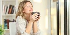 Um diese Zeit musst du Kaffee trinken, damit er wirkt