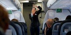Stewardessen sollen nun Windeln gegen Corona tragen