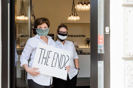 Müssen ihren Shop Ende Mai schließen: Andrea und Kornelija