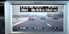 Lenker glühte mit 228 km/h über Wiener Autobahn