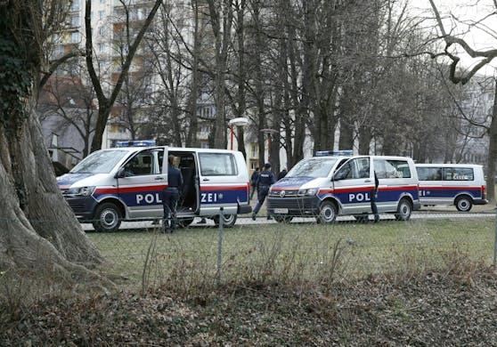 Polizei war im Einsatz