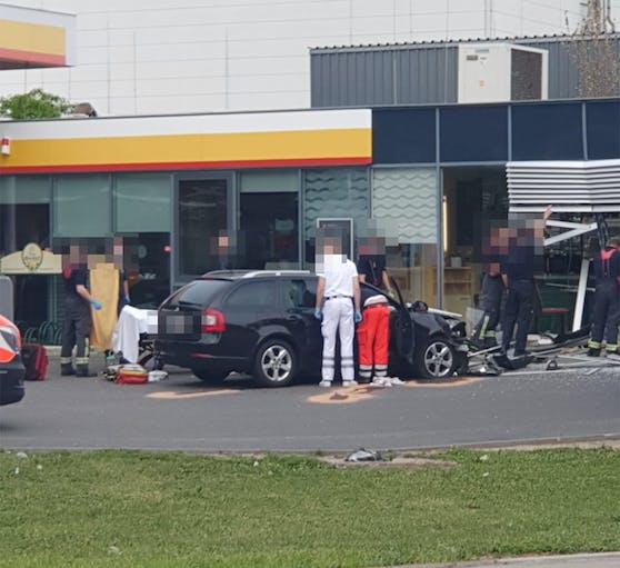 Unfall in Floridsdorf: Dienstagnachmittag in der Siemensstraße
