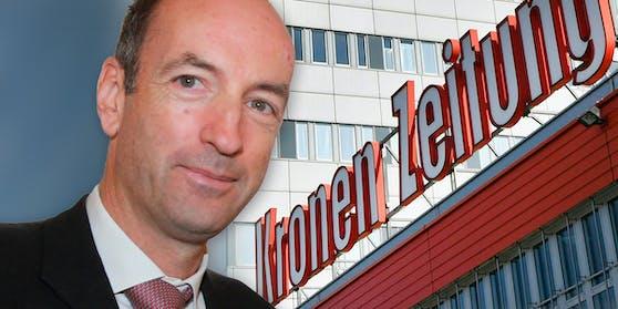 """Christoph Dichand ist Herausgeber und Chefredakteur der """"Kronen Zeitung"""""""