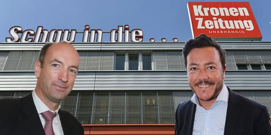 """Herausgeber Christoph Dichand gewann das Ringen um die """"Krone"""". Er würde auch von René Benko Anteile kaufen."""