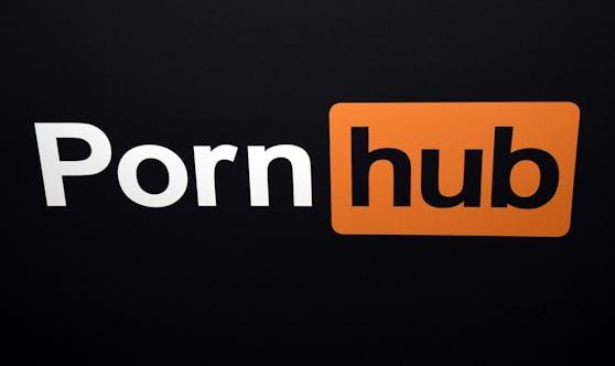 Das Pornhub-Logo: Die Seite hat einen Großteil seiner Videoinhalte gelöscht.