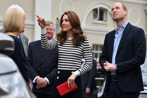 Herzogin Kate bei der King's Cup Regatta.