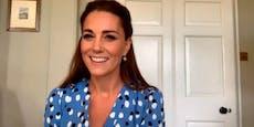 Herzogin Kate: Modenschau im Homeoffice