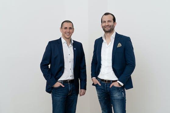 PlanRadar-Gründer Ibrahim Imam und Sander Van De Rijdt