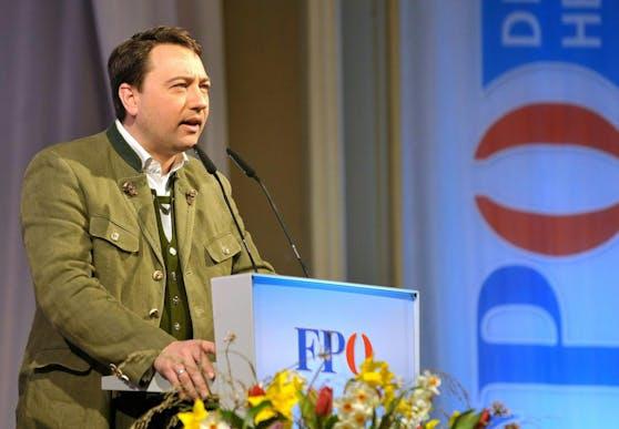 FPÖ-Landesparteichef Manfred Haimbuchner
