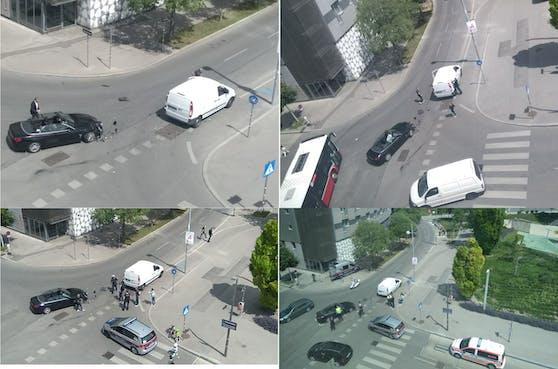 Ein Leser konnte den Unfall mitverfolgen.