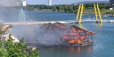 Kein neues Lokal auf der Donauinsel nach Brand im Mai