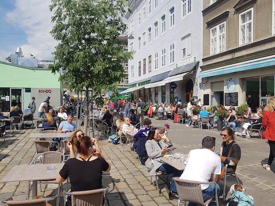 In den letzten Tagen herrschte Großbetrieb in der Lokalszene am Yppenplatz in Wien.