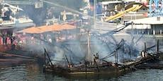 Seit 2004 rätselhafte Brandserie auf der Donauinsel