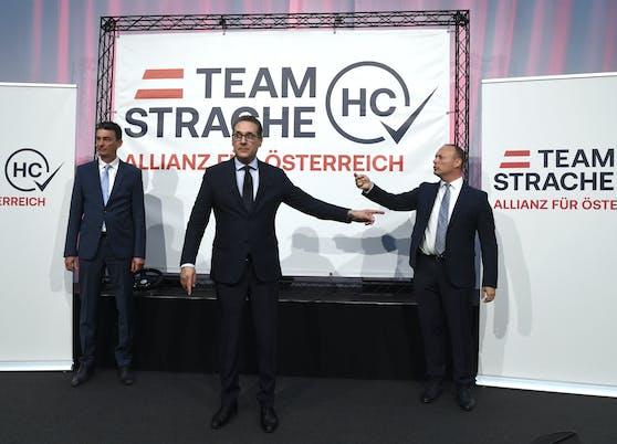 Das Team HC Strache bekommt wieder Zuwachs.