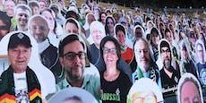 20.000 Papp-Fans feuern Gladbach bei Geisterspiel an