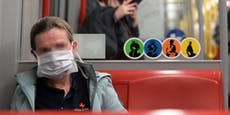 Masken und weniger Fahrgäste: Öffis in der Corona-Krise