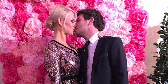 Hier war alles noch rosig - jetzt ließen Kathi Steininger und Daniel Jank ihre Verlobung platzen.