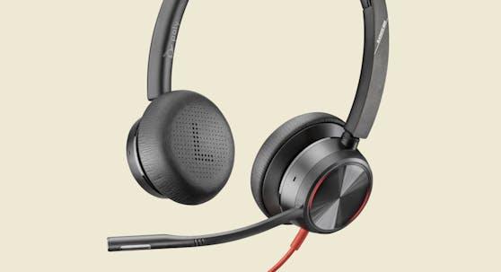 Blackwire 8225 von Poly: USB-Headset mit hybridem Active Noise Cancelling.