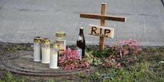 Unfallstelle wird nach Bierkisten-Drama zu Gedenkstätte