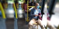 Social Distancing: Mann nimmt eigenen Sessel in Bus mit