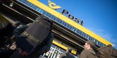 Soldaten übernehmen Postzentrum Wien-Süd