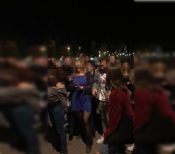 Am Mittwoch kam es zu einer illegalen Party in Wien.