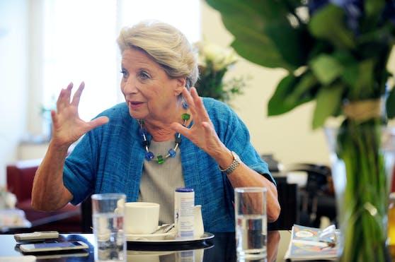 Ursula Stenzel beendet ihre Polit-Karriere mit der Wien-Wahl 2020.