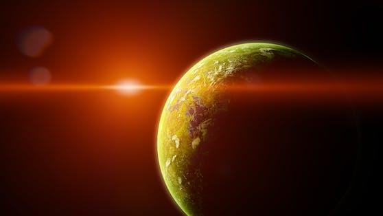 Eine Sensation in der Welt der Wissenschaft: Erstmals konnten Forscher womöglich die Geburt eines Baby-Planeten beobachten.