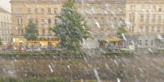 Kaltfront und Regenschauer lassen Temperaturen purzeln