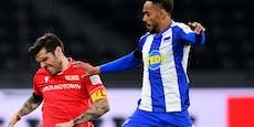 Hertha schießt Trimmel im Berlin-Derby mit 4:0 ab