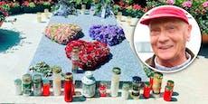 So rührend gedenken Zwillinge und Witwe Niki Laudas