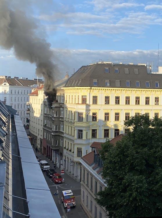 Toter bei Zimmerbrand in Wien