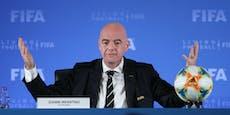 FIFA-Boss Infantino mit dem Coronavirus infiziert