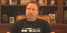 Schwarzenegger lobt Kurz, Schnitzel und Strudel