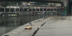So sieht Wiener Donaukanal nach Partynacht aus