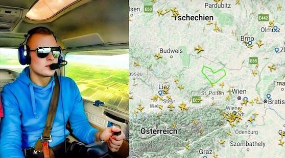 Daniel (26) ist Mechatroniker in der Luftfahrtbranche